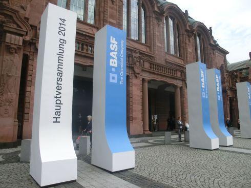 Hauptversammlung BASF - Rosengarten